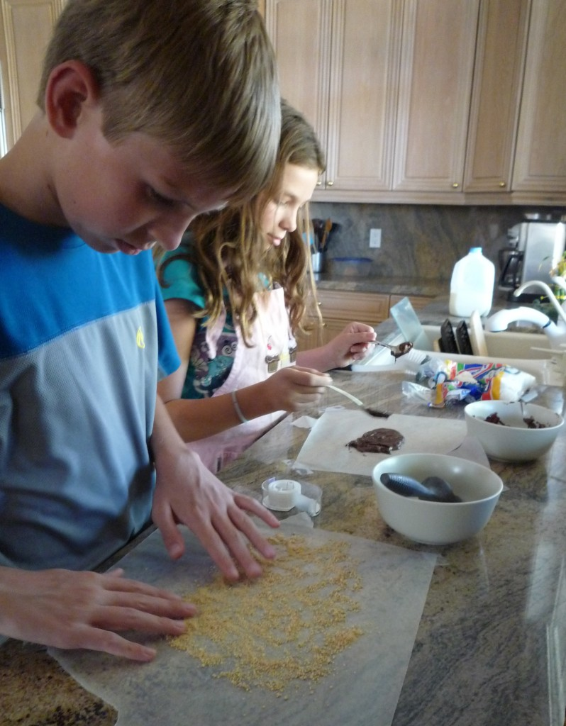 There are so many reasons to love cooking with children!