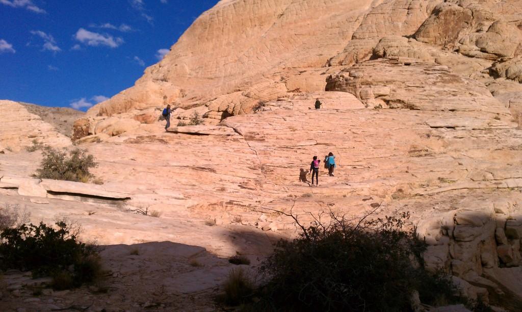 Exploring Red Rock Canyon