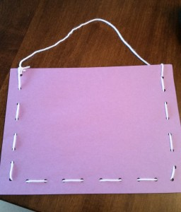 Simple Handmade Valentine's Day Bag