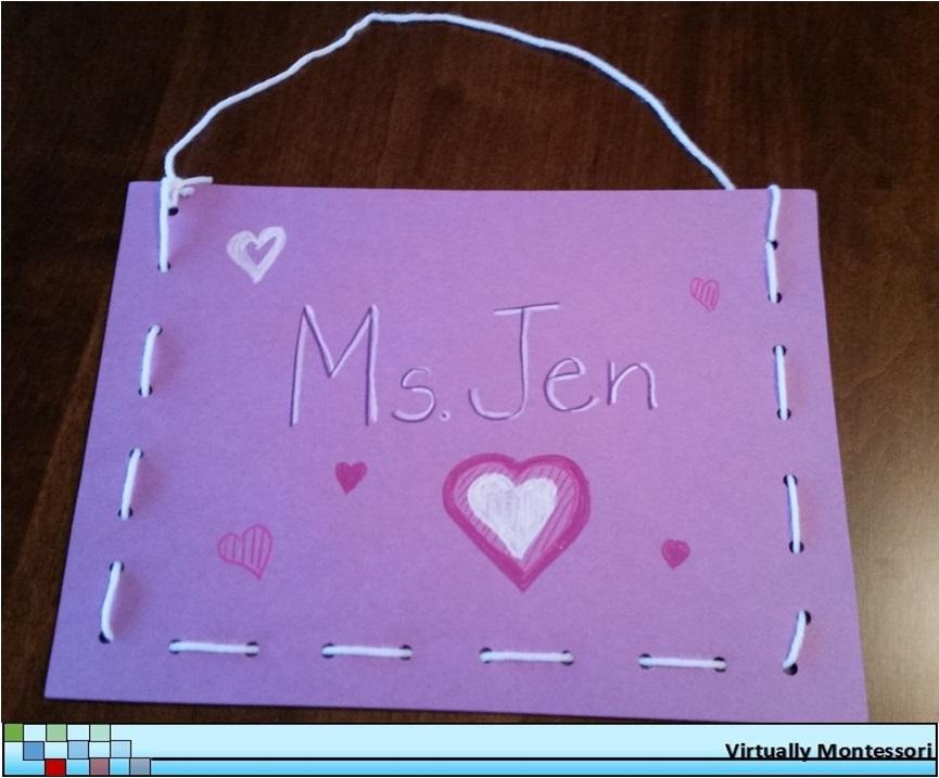simple handmade valentine's day bag - virtually montessori, Ideas