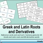 Greek and Latin Roots and Derivatives