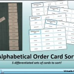 Alphabetical Order Card Sort