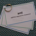 Greek and Latin Prefixes Reference Cards