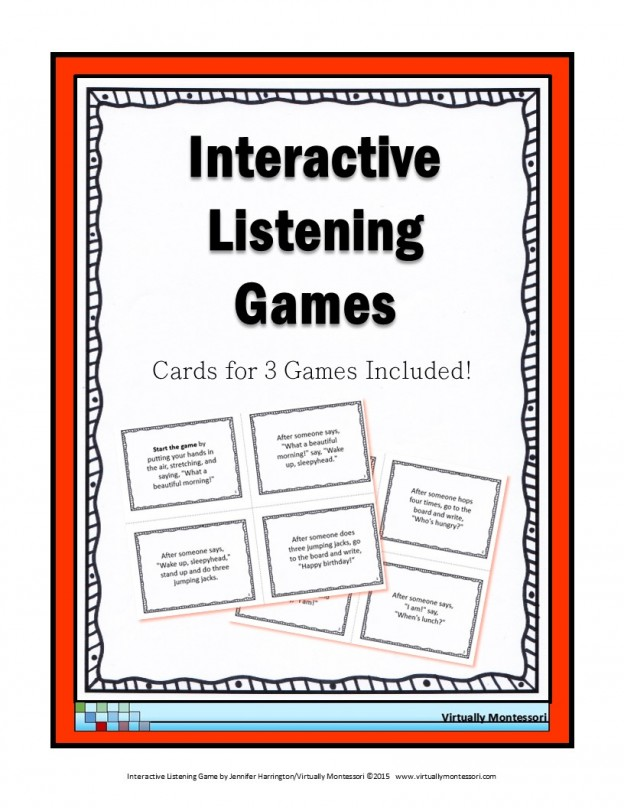 Interactive Listening Game